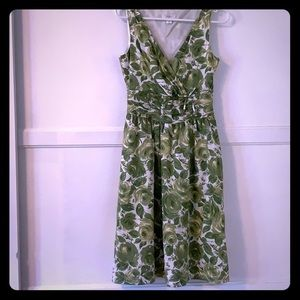 Ann Taylor Loft  vintage-inspired dress size 6